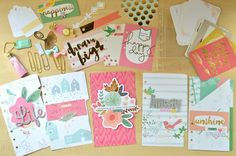 Personalized planner kit with Webster Page's, My Mind Eye On trend 2, My story, Pinkfresh Studio Felicity | by Flóra Mónika Farkas