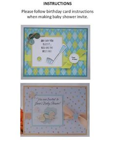 160 best homemade baby shower invitation images on pinterest discover lots of fun homemade baby shower invitations using cute prints find handmade card ideas for baby showers with adorable stickers and accents filmwisefo