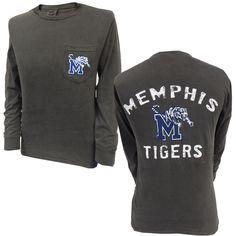 Long Sleeve Memphis Tigers Comfort Colors™ Pocket T-Shirt Sell Textbooks, Memphis Tigers, Dance Shirts, College Life, Tailgating, Hoodies, Sweatshirts, Kids Wear, Pocket