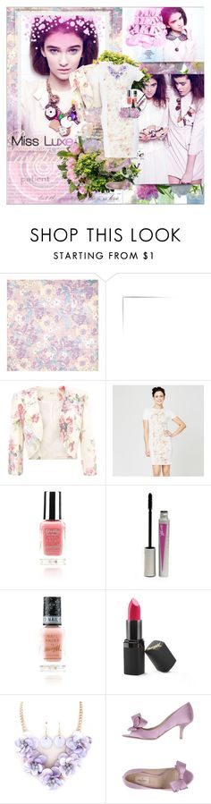 """Miss Luxe"" by shinee-pearly ❤ liked on Polyvore featuring BasicGrey, Barry M and Valentino"
