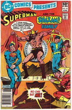 DC Comics Presents 34 June 1981 DC Comics Superman Shazam | eBay