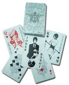Black Butler: Playing Cards I need these in my life