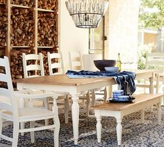 Pearson Extending Dining Table | Pottery Barn #LGLimitlessDesign #Contest