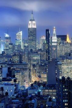 Empire State, New York, United States.