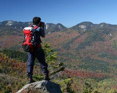 photographer on mountain