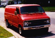 The 1976 Dodge Tradesman 200...and yes it had shag carpet.