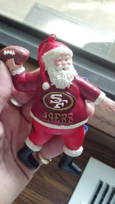 49ER CHRISTMAS ORNAMENT