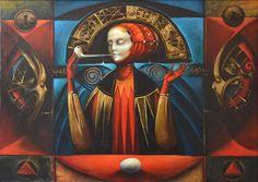 """""""Oracle"""" by Boris Shapiro (Lvov, Ukrain 1968)"""