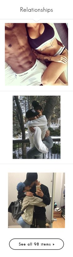 """""""Relationships"""" by danielle-kai ❤ liked on Polyvore featuring couples, pictures, couple, pics, home, home decor, log home decor, relationship, people and babies"""
