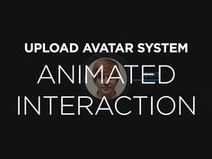 Animated Upload Avatar UX by Miguel Oliva Márquez