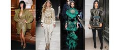From Kendall Jenner, Gigi Hadid and Rihanna, to Kim Kardashian and Jourdan Dunn, Olivier Rousteing has built a Balmain Army since he took over as creative director, made up of fashion's favorite model faces, hip hop singers and socialites, all with huge social media influence. With one day to go until the Fall/Winter 2016-2017 show, meet the members of the fashion world's most striking squad, who have become synonymous with the Olivier Rousteing's Balmain.