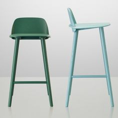 Muuto Nerd bar stool, low | Muuto Nerd bar stool | Bar stools | Furniture | Finnish Design Shop