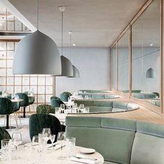 Este domingo encantaríamos cena en el restaurante la Flora Danica Restaurant en Maison Du Danemark,  - nordikadesign