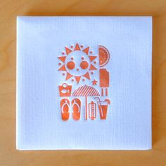 adorable summer party invite