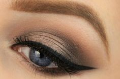 How to make smouldering smokey eyes? It has never been so easy before. See the tutorial >>> http://justbestylish.com/how-to-make-smouldering-smoky-eyes/