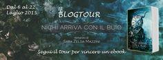 """Su Coffee&Books la 2 tappa del Blogtour dedicato al nuovo romanzo di Sara Zelda Mazzini, """"NICHI ARRIVA CON IL BUIO""""! Passate a scoprire i personaggi di questa bella storia (illustrati per l'occasione dalla bravissima Sara Jane Attiani) <3 http://coffeeandbooksgirl.blogspot.it/2015/07/blogtour-nichi-arriva-con-il-buio-di.html  E ricordate che, partecipando al Blogtour, avrete l'opportunità di vincere 1 copia ebook del romanzo!"""