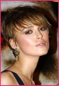 Short hair styles: Keira Knightley Hairstyles