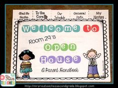 Mrs. Rios Teaches: Open House...If You Feed Them, They Will Come!
