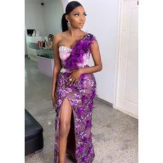 Elegant Asoebi Styles New Collections Nigerian Lace Styles, Aso Ebi Lace Styles, Lace Gown Styles, African Lace Styles, African Fashion Ankara, Latest African Fashion Dresses, African Print Fashion, African Wedding Attire, African Attire