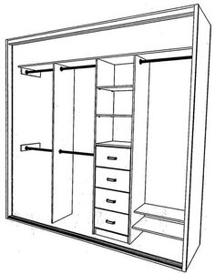 Modern Walk In Shower Design Kitchen Sink Design, Cupboard Design, Master Bedroom Closet, Bedroom Wardrobe, Build A Closet, Walk In Closet, Wardrobe Design, Built In Wardrobe, Closet Curtains
