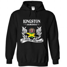 Kingston - Its where my story begins! - #designer t shirts #cool hoodie. LIMITED TIME  => https://www.sunfrog.com/No-Category/Kingston--Its-where-my-story-begins-9665-Black-Hoodie.html?id=60505