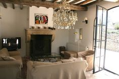 Homes in Provence  Like the chanelier works surprisingly well