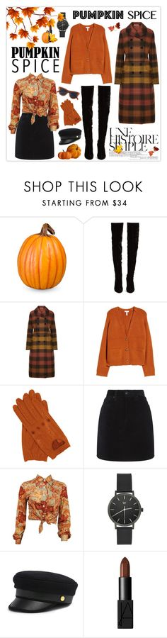 """Monochrome: Pumpkin Spice"" by mars ❤ liked on Polyvore featuring Improvements, Christian Louboutin, Bottega Veneta, Une, Leith, rag & bone, Henri Bendel, NARS Cosmetics, CÉLINE and pumpkinspice"