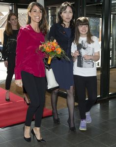 Princess Marie of Denmark attended the National Autism Conference on April 28, 2015 in Odense, Denmark. (HRH Princess Marie is patron of the Danish National Association for Autism, since 2011)
