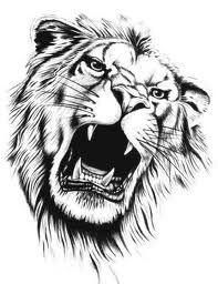 Galeria tatuazy - Tatuaze lwy