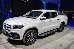 New 2018 Mercedes X-Class pick-up truck revealed