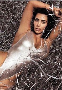 Kim Kardashian wearing Kai Lani