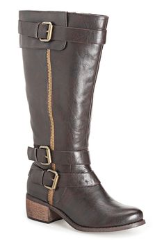 Plus Size Olivia Three Buckle Riding Boot | Plus Size Boots | Avenue