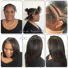 My client, a businesswoman from Houston, came to me requesting a hairstyle that would be professional for work, and that gave her versatility in styling. I think I nailed it! ...FLAWLESS SEW-IN HAIR WEAVES by Natalie B. (312) 273-8693...IG: @iamhairbynatalieb ...FACEBOOK: Hair by Natalie B. .....ORDER HAIR: www.naturalgirlhair.com.