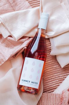 [Santa Barbara County, CA] Summer Water Rosé is back! The 2015 Grenache contributes delicate, floral aromatics and a crisp finish, while the Syrah adds a more robust body. Bright, refreshing notes of citrus, raspberry and grapefruit.