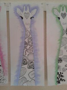 groep 7/8 januari 2014 Elementary Art Rooms, Art Lessons Elementary, 2nd Grade Art, Jr Art, Africa Art, Animal Crafts, Art Classroom, Art Programs, Art Plastique