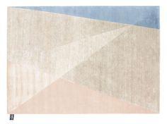 """Dipped Angle"" von cc-tapis wurde aus Wolle aus dem Himalaya geknüpft, 3835 Euro."