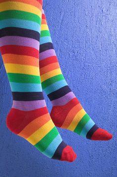 Collant multicolore