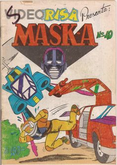 MASK-A Cover Art, Comic Books, Fan Art, Comics, Random, Phone Backgrounds, Souvenirs, Cartoons, Cartoons