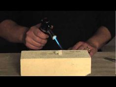 how to fire precious metal clay using a butane torch. She covers everything from filling the torch to firing the silver ring project.