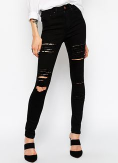 Shop Black Slim Cut Out Pant online. Sheinside offers Black Slim Cut Out Pant & more to fit your fashionable needs. Free Shipping Worldwide!