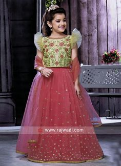 readymade choli suits online collection for kids Baby Girl Frocks, Baby Girl Party Dresses, Dresses Kids Girl, Party Wear Dresses, Baby Dress, Kids Outfits, Girls Frock Design, Kids Frocks Design, Kids Dress Wear