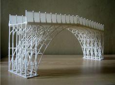 3D printed bridge. #3dPrintedArchitecture
