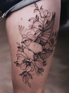 bird tattoos for women Diana Severinenko gt; Bird Tattoo Sleeves, Bird Tattoos Arm, Bird Tattoos For Women, Arm Tattoo, Body Art Tattoos, 3 Birds Tattoo, Bird Shoulder Tattoos, Bluebird Tattoo, Bird Tattoo Back