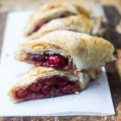 Hungarian Sour Cherry Strudel. I really want to make this!