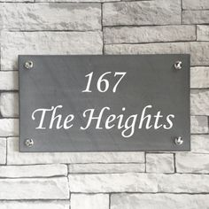 looking for a sign to make your house stand out this slate house is the