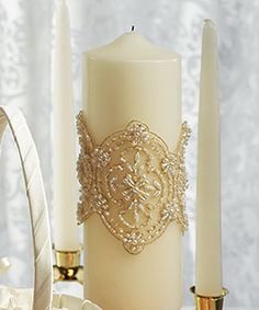 vintage unity candle as low as $43.98, vintage wedding decorations, wedding table decorations