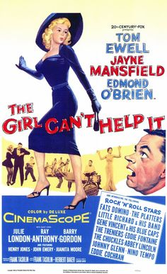 """Greatest rock and roll movie of all time? You've got to consider """"The Girl Can't Help It"""" (1956). In addition to the va-va-voom of Jayne Mansfield (and Julie London--mrraow!), the film features gorgeously shot musical vignettes with Fats Domino, Gene Vincent & His Blue Caps, Eddie Cochran, The Platters and, of course, Little Richard."""