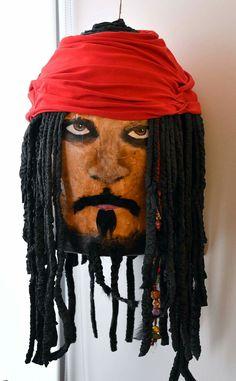 Diy Jack Sparrow pinata