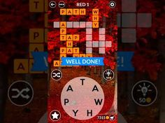 Wordscapes Red Answers