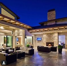 I love this backyard area